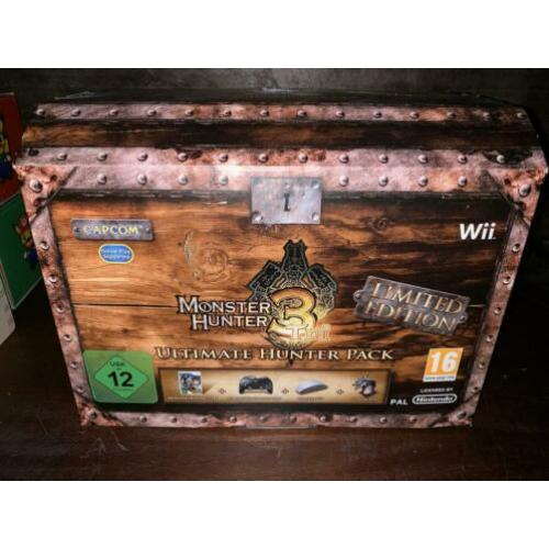 Monster Hunter 3 Tri, ultimate hunter pack Limited Edition
