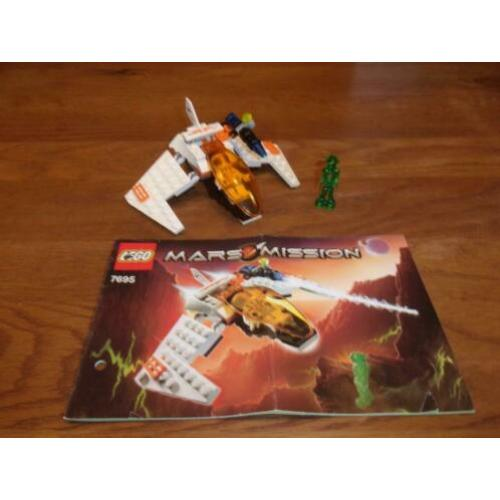Lego Mars Mission 7695-1 MX-II Astro Fighter uit 2007
